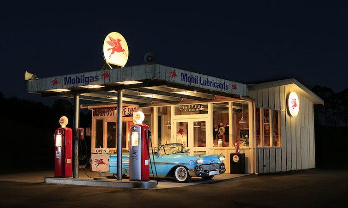 Rod Millen gas station