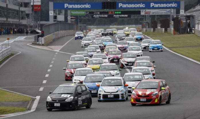 Netz Cup Yaris racing