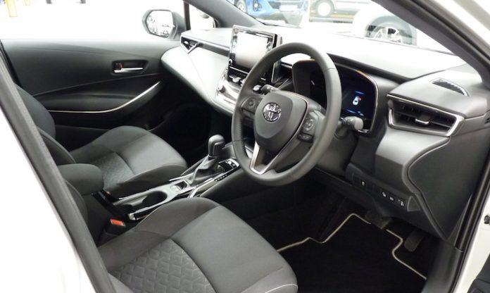 Toyota hybrid storage