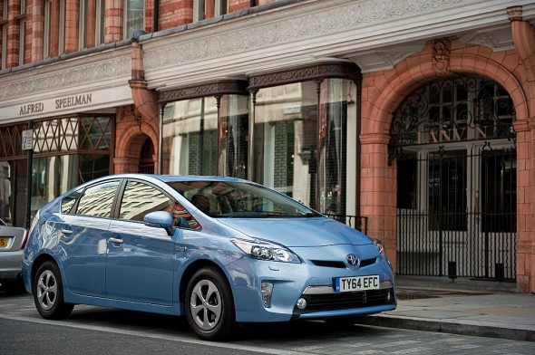 Prius Plug-in city