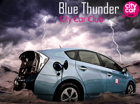 Prius Plug-in city