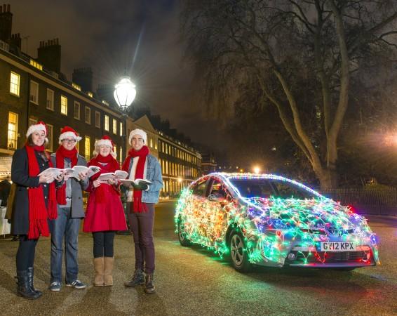 Prius PlugIn Christmas