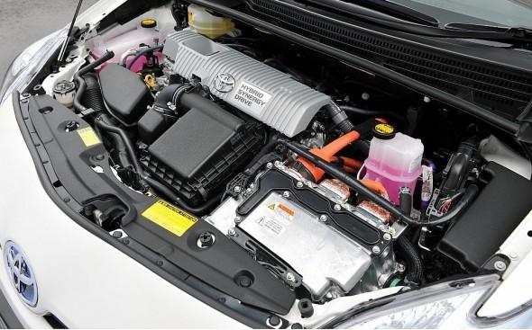 Prius hybrid engine