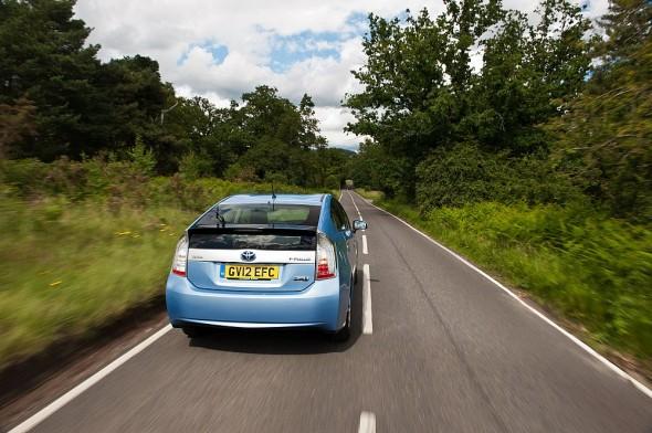 Prius plug in hill