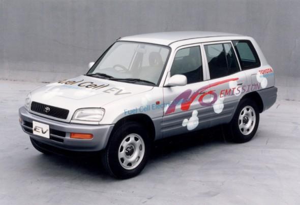 RAV4 fuel cell