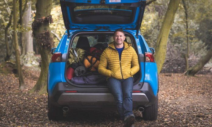 Steve Backshall RAV4