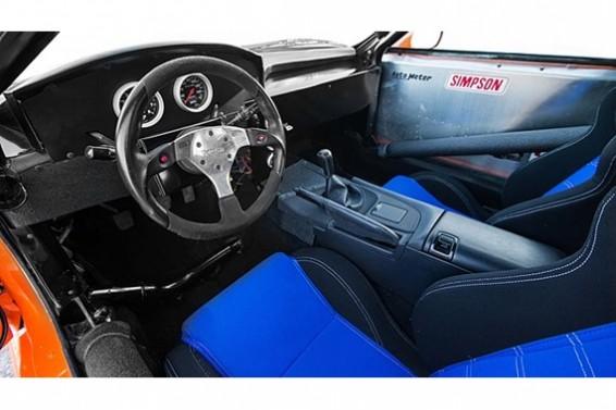 Supra Fast and Furious interior