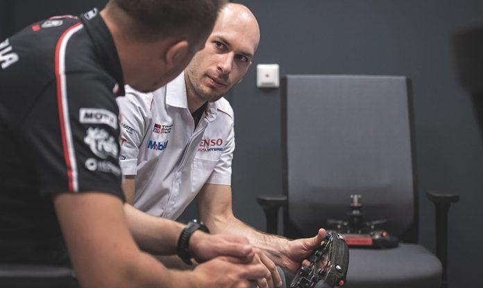 Toyota racing simulator
