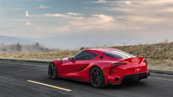 Toyota FT-1 static rear