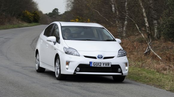 Prius dynamic moving front