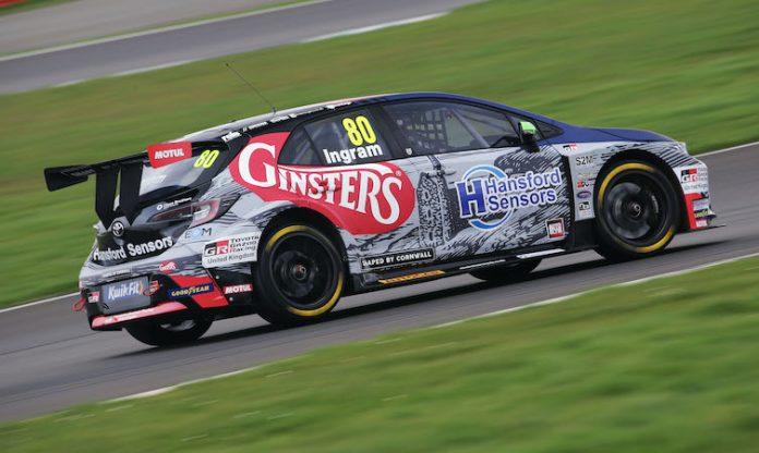 Tom Ingram (GBR) - Toyota Gazoon Racing UK with Ginsters Toyota Corolla