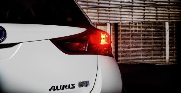 Toyota Auris rear light