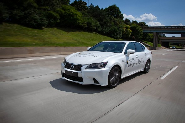 Toyota Automated driving and safety tech 1