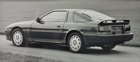 Mk3 Toyota Supra rear