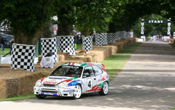 Toyota Corolla WRC at Goodwood Festival of Speed