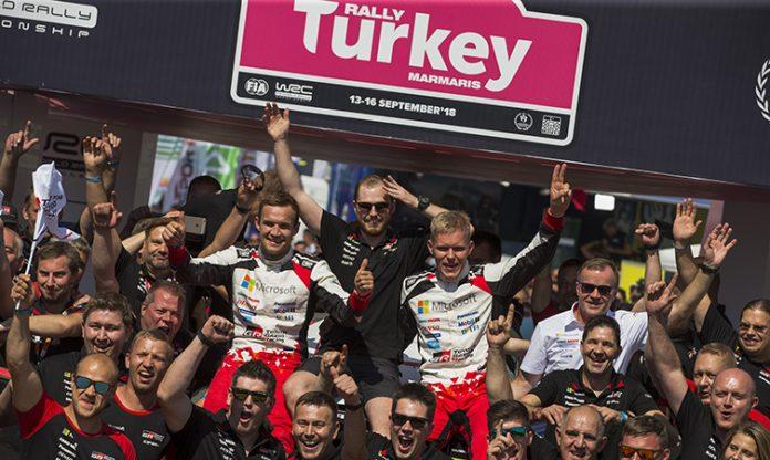WRC Turkey 2018