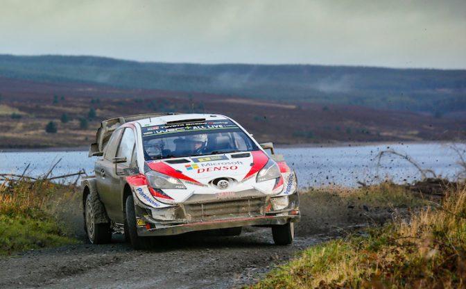 Ott Tanak Yaris WRC 2019