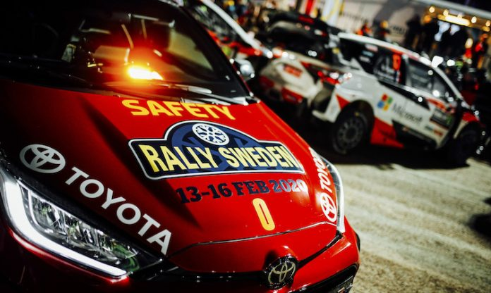 Toyota GR Yaris Rally Sweden