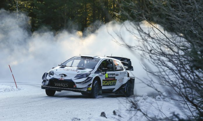 Latvala 2020 Rally Sweden