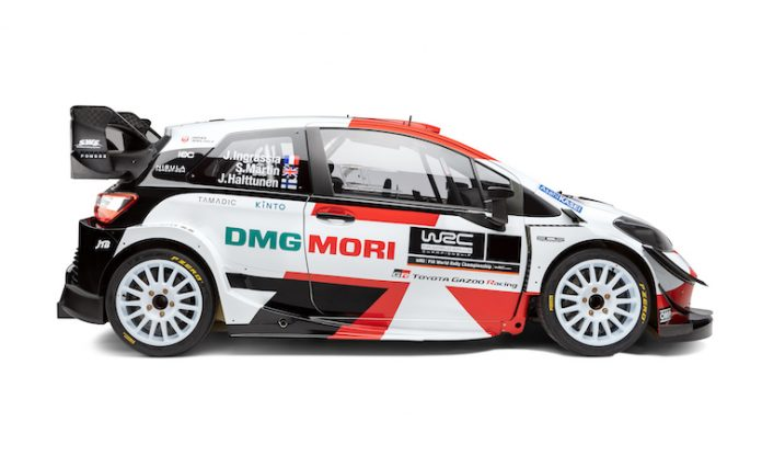Toyota Yaris 2021 WRC Livery