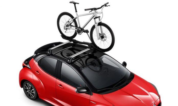 Toyota Yaris Accessories - Roof Bike Holder