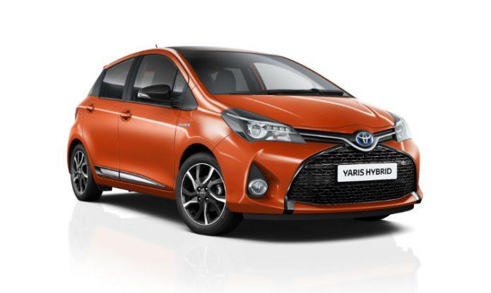 Toyota Yaris Orange Edition