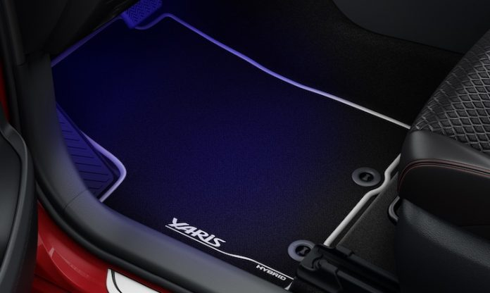 Toyota Yaris Accessories - Carpet
