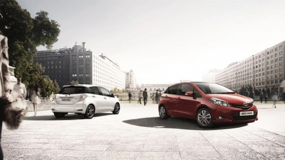 Yaris Trend and Yaris Icon+ with Appearance Pack