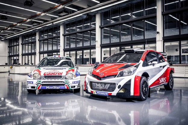 Toyota Yaris WRC and Corolla WRC