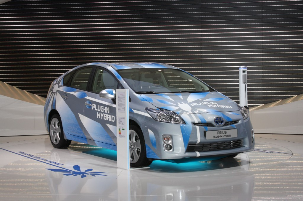 The plug-in Prius PHV previews the future of hybrid technology