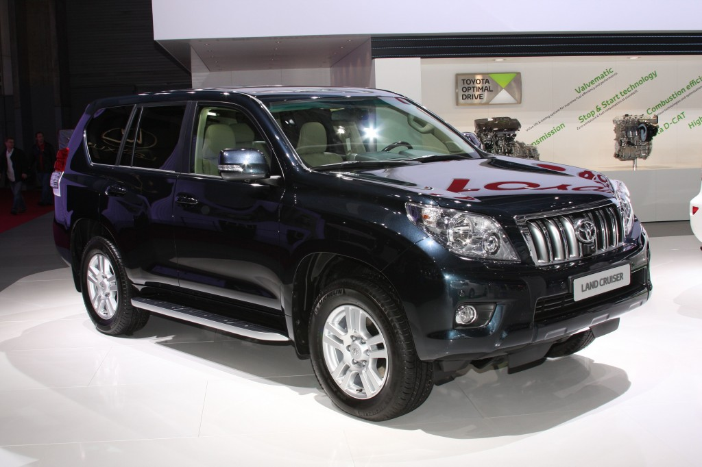 Standing out in Paris - 2010 is the 60th anniversary of the Toyota Land Cruiser