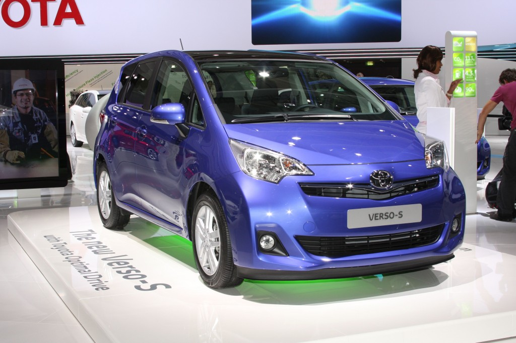 The Verso-S, Toyota's all new mini-MPV, will be on sale in 2011