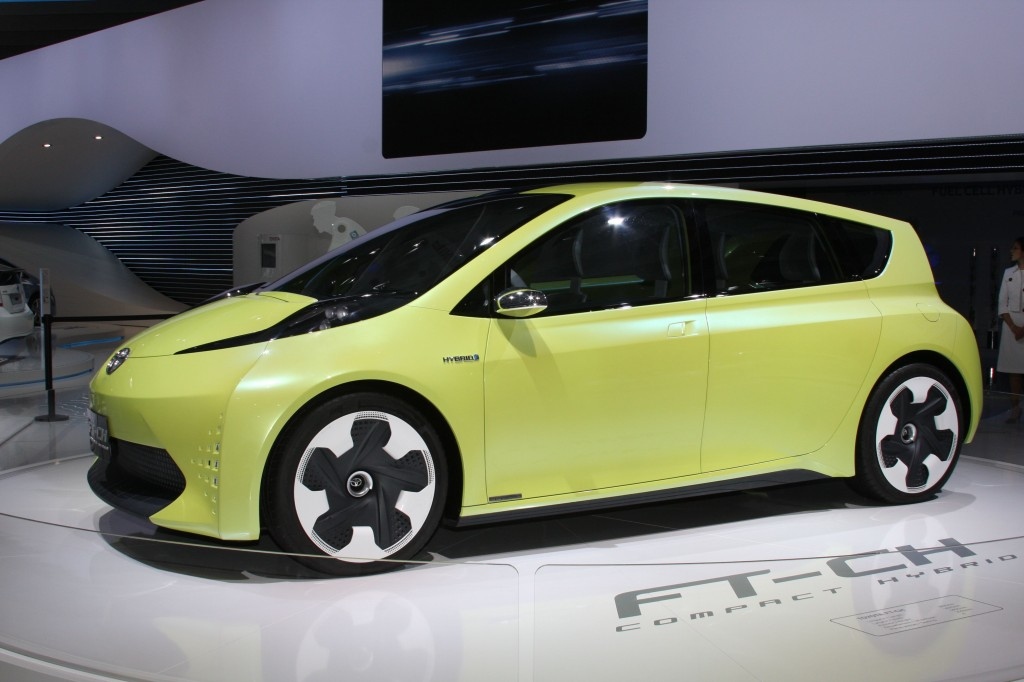 First European showing for the FT-CH compact hybrid concept