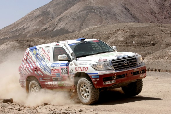 Dakar Rally Land Cruiser