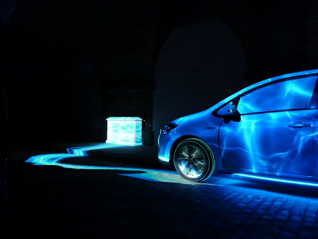 Auris HSD Projection Mapping