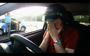 The game did not go well for James May