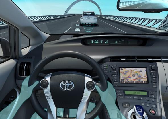 prius adaptive cruise