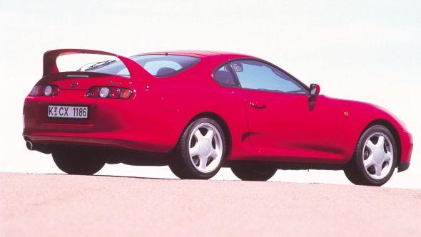 Mk4 Toyota Supra rear