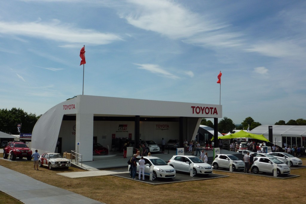 Toyota Pavilion at Goodwood