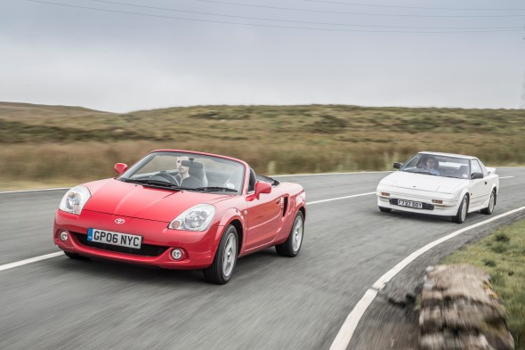 Toyota Sports Cars Past & Present
