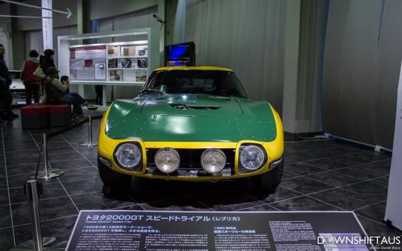 2000 GT speed trial