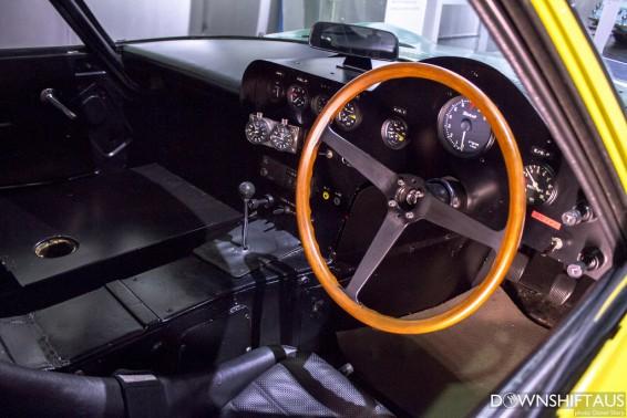 2000 GT speed trial interior