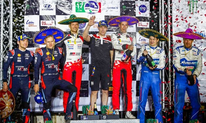 Toyota Gazoo Racing 2020 WRC Mexico