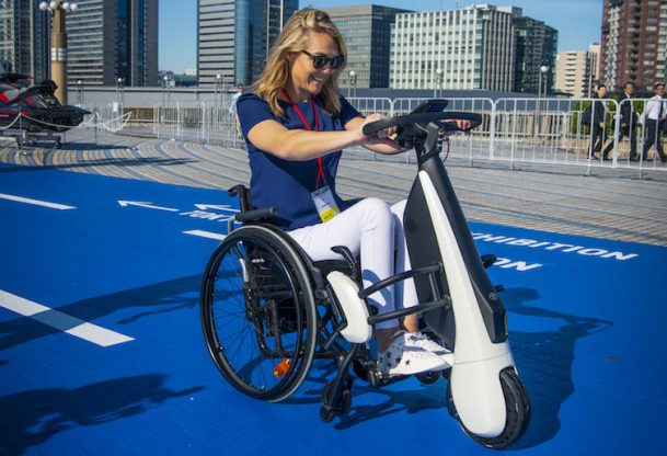 Sophie Morgan mobility