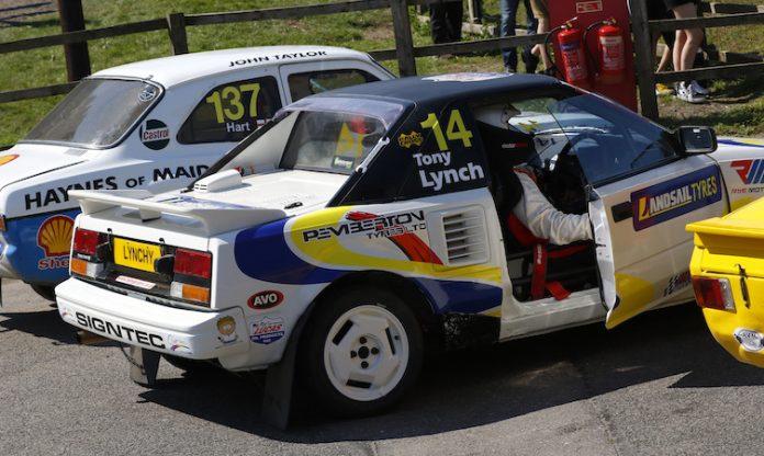 Tony Lynch Toyota MR2 rallycross