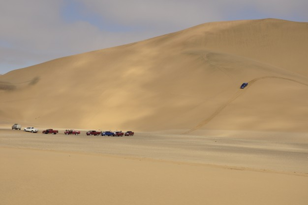 Toyota Hilux sand dunes