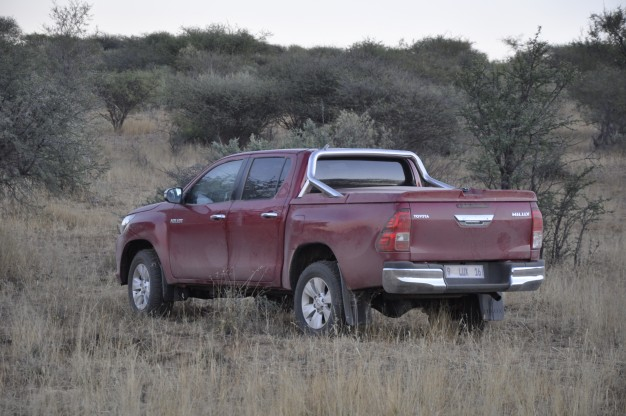 Toyota Hilux in the bush