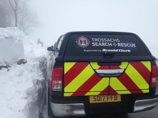 Trossachs Search and Rescue Hilux