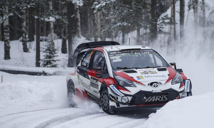 Latvala Rally Sweden