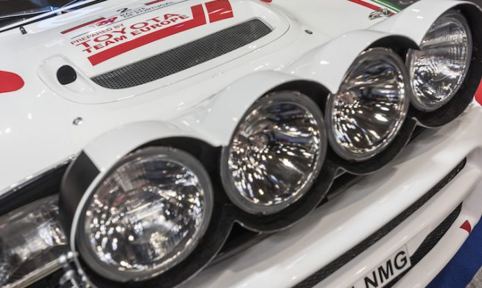 Nicky Grist Toyota Celica